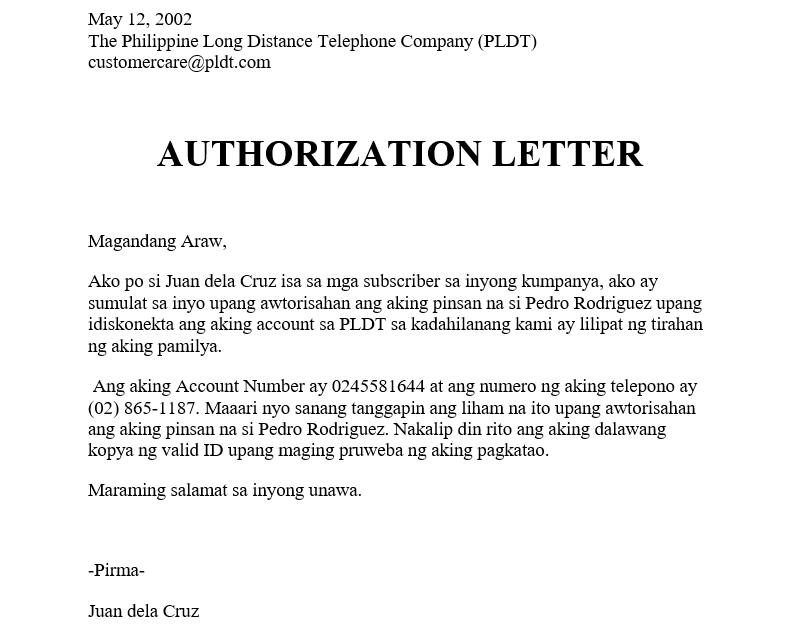 Authorization-Letter-for-PLDT-Tagalog